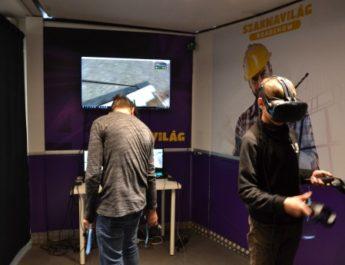 Virtuális utazást tettek a szakmák világába a salgótarjáni általános iskolások